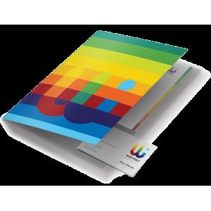 Печат на презентационна папка