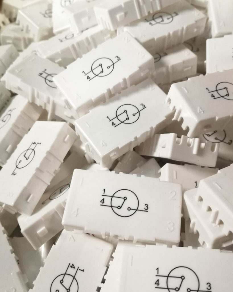 промищлен печат на технически изделия - ABS