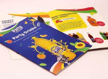 Печат на пълноцветна осемстранична брошура (мини каталог)