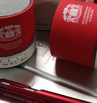 Печат цилиндрична повърхност, пластмаса. Изделие USB-tonkolonka